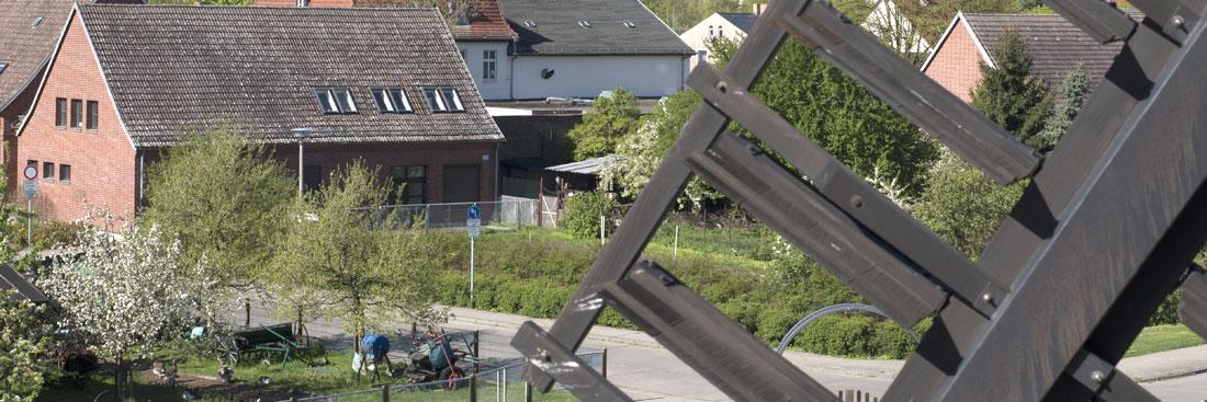 Blick von der Bockwindmühle; Foto: Ole Bader