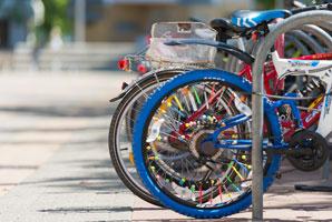 Fahrräder; Foto: Ole Bader