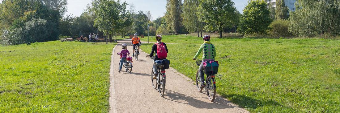 Radfahrer,Foto: Ole Bader